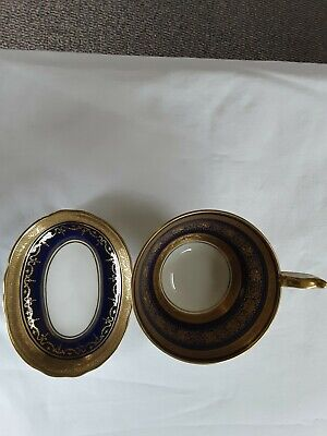 Anysley Cabinet Cup And Trinket Dish Cobalt Blue • 10£