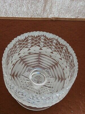 Tyrone Crystal Footed PRESTIGE Carrickmore Bowl • 12.99£