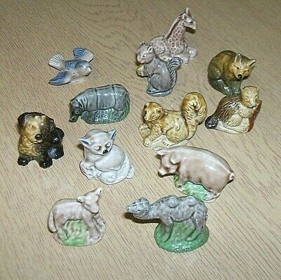 12 Wade  Whimsie Type Figures Please Note  No Original Boxes As In The Picture's • 9.50£