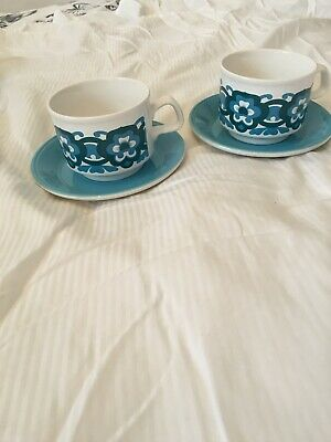 Vintage Original 70s Cup And Saucer  • 3.70£