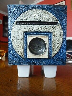 Troika Footed Cube Planter 1970's • 140£