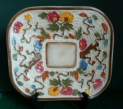 Henry Wood Indian Tree Rectangle Dish • 15£