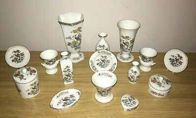 Wedgewood Kutani Crane Collection 15 Items - Superb Condition. FREE Delivery • 20£