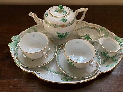 Herend Tea Service For Two.  Never Used In 30 Years Since Gifted. • 106£