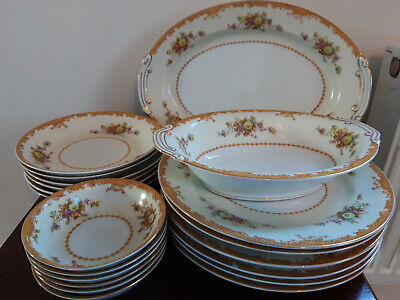 Vintage 20 Piece 'Made In Occupied Japan' Dinner Set, 6 Places • 30£