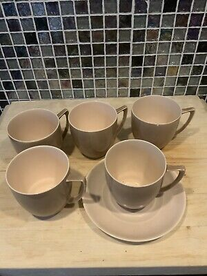 Branksome China Pottery Coffee Cups • 5£