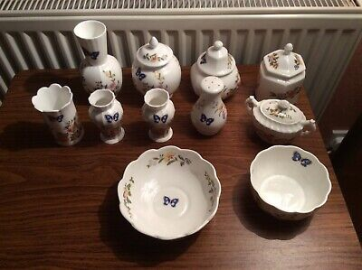Aynsley Cottage Garden Collection Of 11 Pieces Sold For Charity • 5.70£