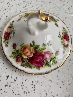 Royal Albert Old Country Roses Small Lid 14cms (lid Only) • 3.99£