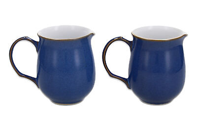 Denby Imperial Blue 2 X Small Jugs • 0.99£
