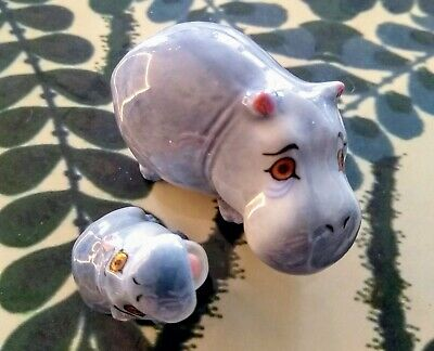 Wade Hippo Mother And Baby In Excellent Condition • 18£