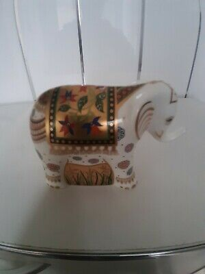 Royal Crown Derby Paperweight Indian  Elephant This In Perfect  Condition... • 22.20£