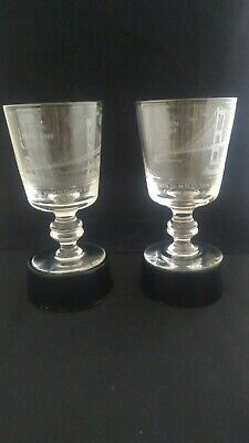 Forth Road Bridge Goblet Signed Murray / Louie Severn Bridge Goblet Signed Louie • 55£
