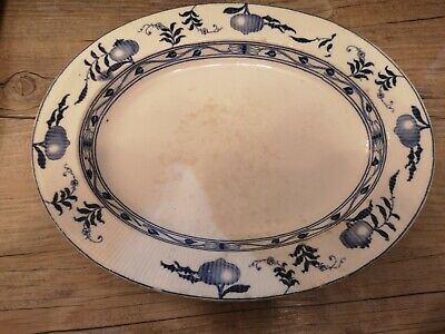 Furnivals Dresden Rare Vintage Large Serving Plate  • 8.99£