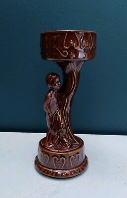 Vintage Royal Wessex Art Deco Figurine Candle Or Posy Holder • 13.99£