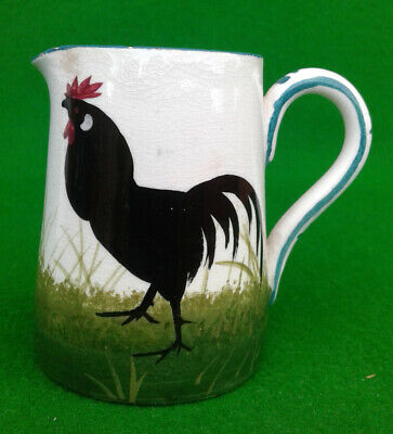 Wemyss Ware Small Jug - Bon Jour Cockerel Pattern. • 29.99£