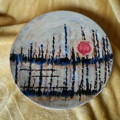Cobridge Stoneware 27cm Plate / Charger Mistral Sunset By Anita Harris Moorcroft • 74£