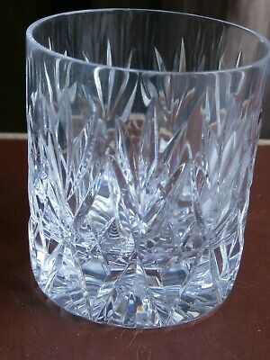 Brierley Crystal Whiskey Glass - Stamped • 1.99£