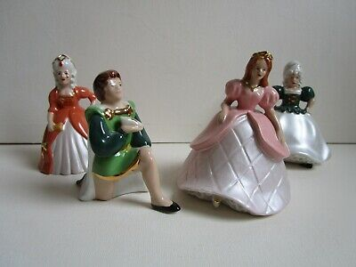 Wade Cinderella Figure, Prince Charming And Two Sisters • 22£
