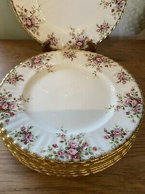 6x Royal Albert Cottage Garden Dinner Plates • 60£