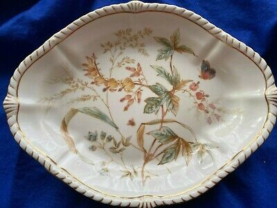 Antique Royal Crown Derby 1889 Victorian Dish 1 • 20£