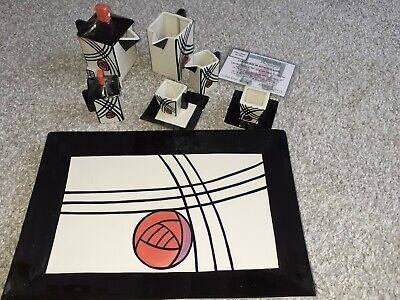 Lorna Bailey Limited Edition Charles Rennie Mackintosh Coffee Set + Certificate • 65£