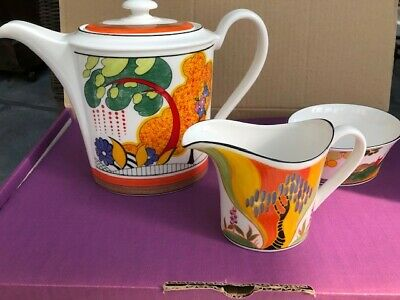 Wedgewood Clarice Cliff Coffee Set Limited Edition • 60£