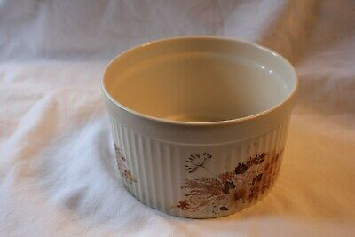 Vintage Poole Pottery Summer Glory Souffle Dish 5 1/2   • 5.50£