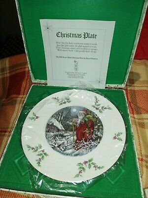 1980 Royal Doulton Christmas Plate In Original Box • 5£