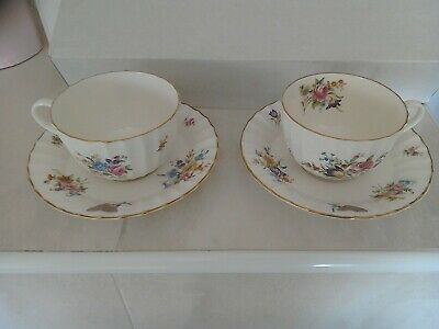 Royal Worcester Roanoke  Cup And Saucer X 2 • 5£