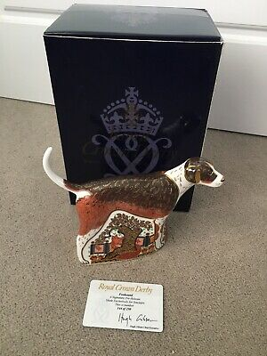 Royal Crown Derby Sinclairs Foxhound Paperweight Rare Limited Edition • 200£