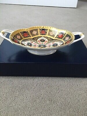 Royal Crown Derby Old Imari 1128 Melbourne Tray Boxed • 250£