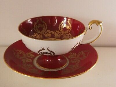 Aynsley Orchard Fruit Cup And Saucer • 89.99£