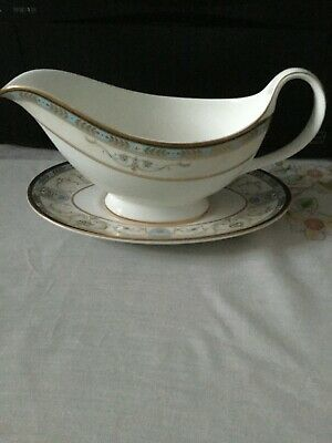 Royal Doulton Frontenay Gravy/sauce Boat With Saucer • 34.99£