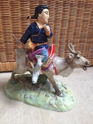Very Rare Kevin Francis Raindeer Boy Limited Ed 50 Signed Artist William Bailey • 325£