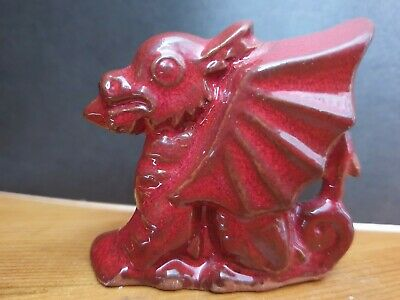 Small Bangor Pottery Red Welsh Dragon • 4.99£