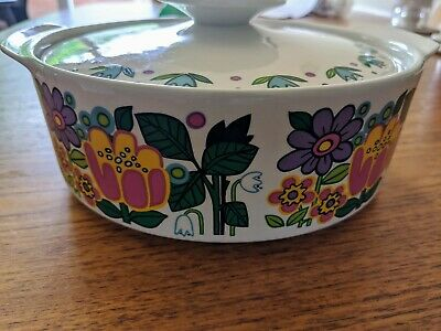 J&G Meakin Garden Party Tureen • 50£