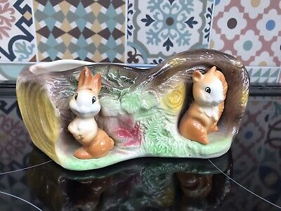 Vintage Eastgate Fauna Vase Withernsea England 1960's Excellent Condition • 1.40£