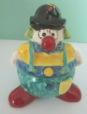 Oldcourt Ware Hand Painted - Mack The Clown - Limited Edition No 258 Of 750 • 7.59£
