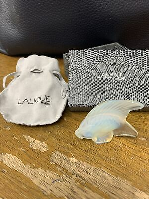 Lalique Fish Pearl Clear • 44£