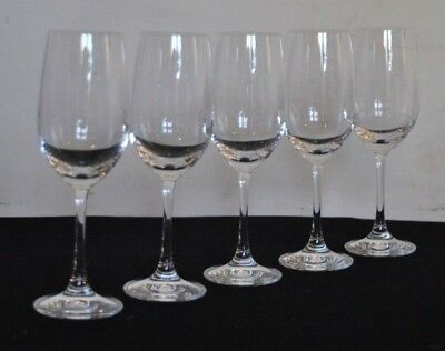 Spieglau Glass Five Champagne/White Wine Signed Made In Germany • 19.95£