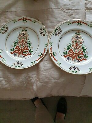 2 Royal Crown Dery Christmas Plates • 60£
