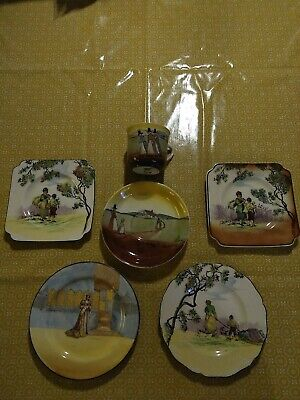 Collection Royal Doulton Old English Scenes Gleaners, Katharine  • 35£