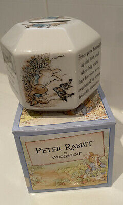 Wedgewood Peter Rabbit Money Box Vintage Boxed • 6£