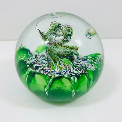 Caithness Myriad Paperweight Green And Multi Colours • 3.20£