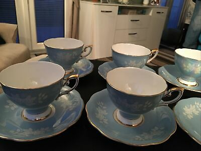 Vintage Royal Standard Bone China Cups And Saucers  • 45£