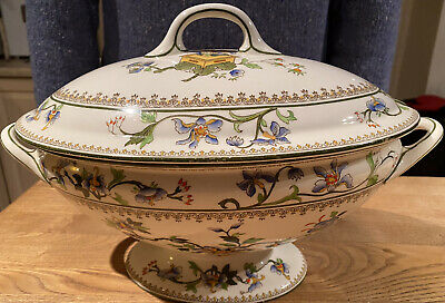 Royal Worcester Soup Tureen & Lid 1917 Very Good Condition • 5£