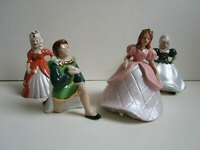 Wade Cinderella Figure, Prince Charming And Two Sisters • 18£