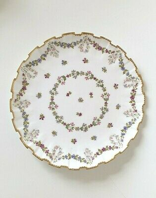 Antique Copelands China Castellated Plate For T. Goode Pattern 5796 • 33£