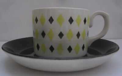 TG GREEN & Co Ltd Church Gresley Vintage Retro Cup And Saucer (Made In England) • 20£