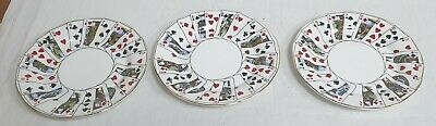 Elizabethan Cut For Coffee Queens China 3 Side / Tea Plates • 5.99£